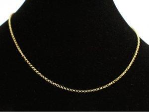 14 karaat gouden collier van het merk Binder.