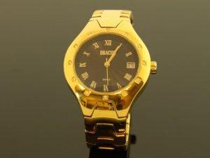 Dames horloge merk: Drache met briljant.