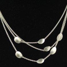 Zilveren Esprit collier.