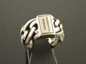 Zilveren Buddha to Buddha ring.
