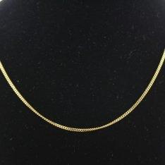 14 karaat gouden collier.