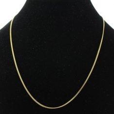 14 karaat gouden lengte collier.
