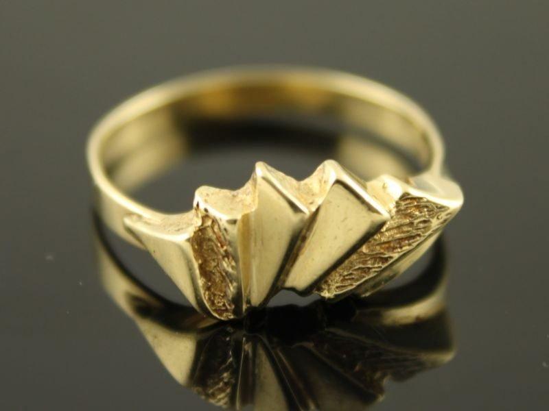 14 karaat gouden ring